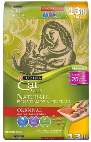 Purina Cat Chos Naturals plus Vitamins and Minerals