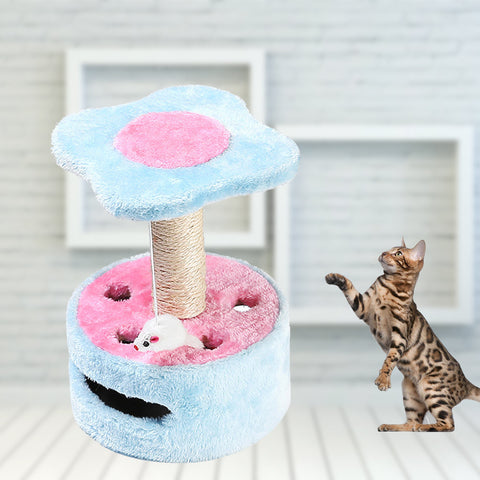 Climbing Frame for Cats With Jumping Platform | Grinding Claws with Observatory