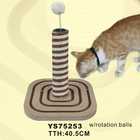 Kitten Play Toy | Cat Scratcher | Play Toy Ball for Cats