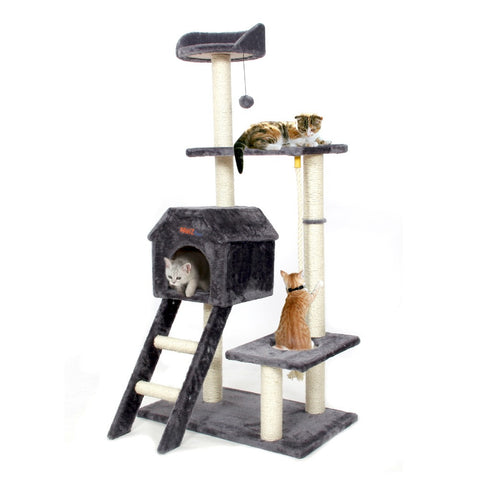 Pawz Road Large Cat Tree | Wooden Climbing Tree