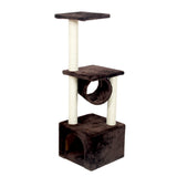 Medium-Sized Cat Tree with Cat Condo and Cat House | Perfect For The Living Room