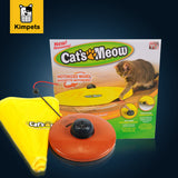 Nylon Fabric Moving Mouse Interactive Play