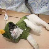Pet Cat Clothes For Costume Pajamas Party