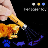 Portable Creative Funny Pet Cat Toys LED Laser Pointer