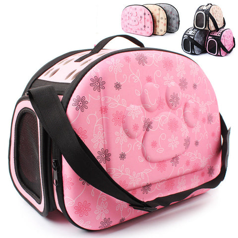 Cat Foldable Travel Carrier Handbag
