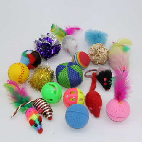 18 Variety Small Mini Playing Mouse Toys