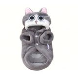 Winter Warm Casual Cat Hoodie Coat
