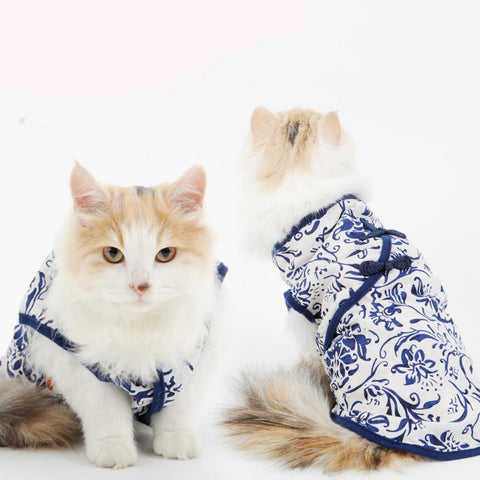 Cat Clothes Fall And Winter Warmth And Cat Vest Spring And Summer | Cat Outfit