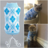 Candy Stripe Color Warm Cat Sweater