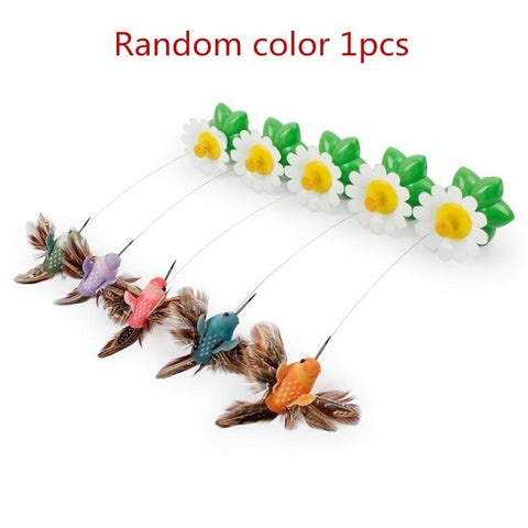 1pcs intelligent electric rotating colorful butterfly