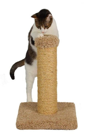 Sisal Scratching Post by Molly and Friends