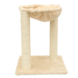 Actionclub Cat Wooden Hammock Scratching Post Furniture - Lounging Hammock - 2016 New Arrival