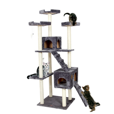 Multi-Level Large Cat Tree House For Large Cats