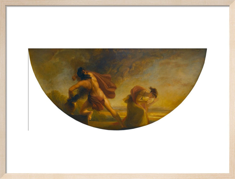 The Opening of Pandora's Vase (Library-Dining Room ceiling painting, 6 of 6)