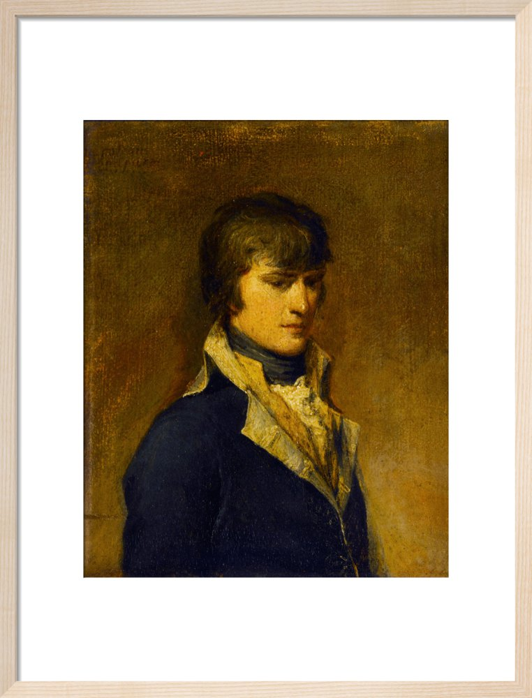 Napoleon Buonaparte in His 29th Year Painted at Verona