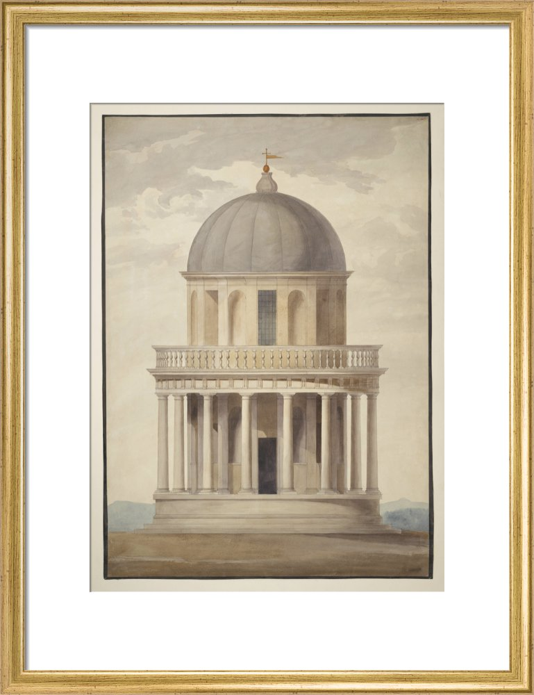 Bramante's Tempietto at the Church of San Pietro in Montorio, Rome