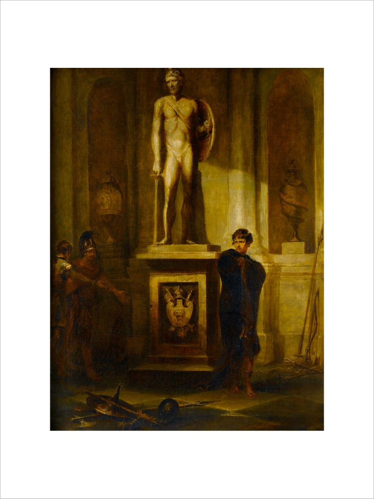 A Scene in Coriolanus, with a Portrait of the Late J. P. Kemble as Coriolanus