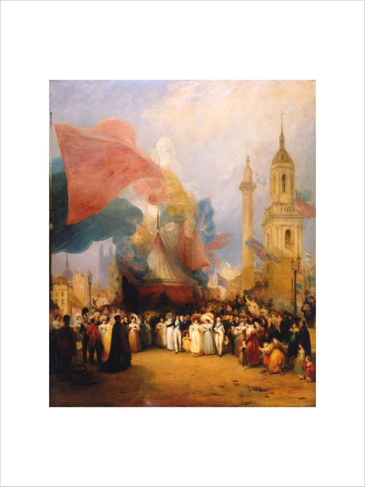 The Royal Procession at the Opening of the New London Bridge, 1 August 1831