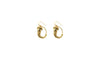 Gold Roman Acorn Earrings