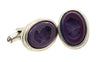 Purple Intaglio Extasia Cufflinks
