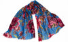 Blue Caterina Modal/Silk Scarf
