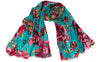 Caterina Turquoise Modal/Silk Scarf