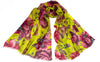 Caterina Lime Modal/Silk Scarf