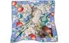 Shakespeare's Flowers Silk Scarf Square