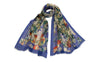 Shakespeare's Flowers Silk Scarf Long