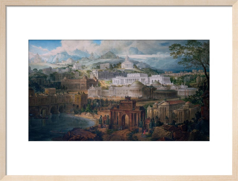Architectural Visions of Early Fancy by J. M. Gandy