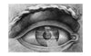 'The Interior Of The Theatre At Besancon Reflected In The Pupil Of An Eye' Print