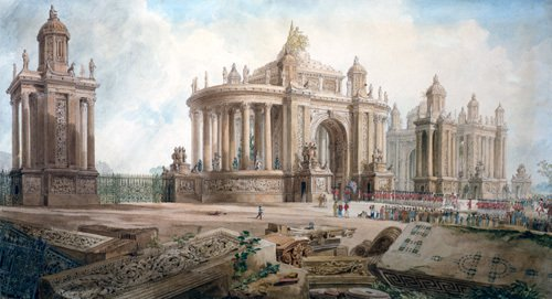 Design (by John Soane) for an Entrance to London