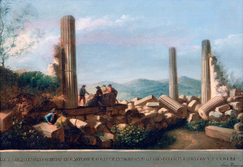 View of the Remains of the Temple (supposed to be of Castor and Pollux) in Agrigentum (5 of 6)