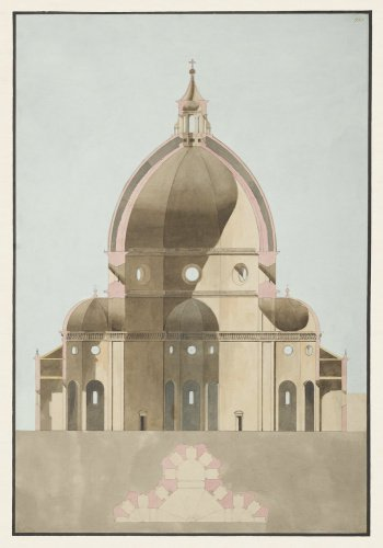 Dome Cross-Section, Florence Cathedral