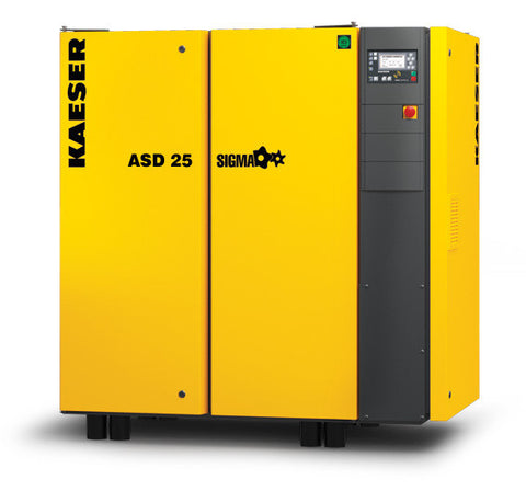 Kaeser ASD25  25 HP Rotary Screw Compressor