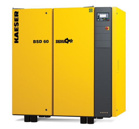 Kaeser BSD60  60 HP Rotary Screw Compressor