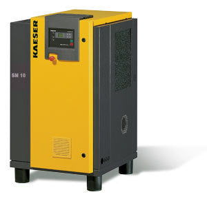 Kaeser SM10  10 HP Rotary Screw Compressor