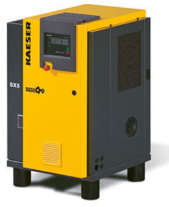 Kaeser SX5 5 HP Rotary Screw Compressor