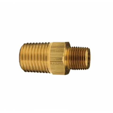 Brass Hex Reducer Nipples - Not Available In California