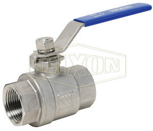 Full Port Stainless Steel Ball Valves w/Locking Handle