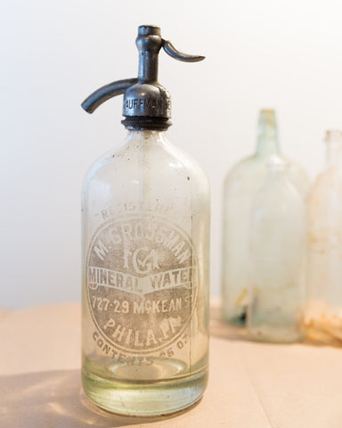 Seltzer Bottle, Various