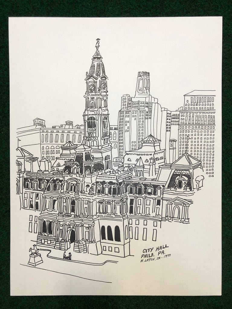 1970s Philadelphia Landmark Prints