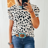 The Maxima Leopard Knit Top