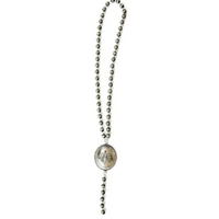 The Sheridan Faux Navajo Pearl and Concho Necklace