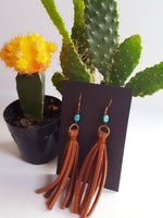 The Quanah Earrings-black