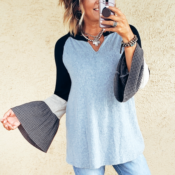 The Canyon Bell Sleeve Tunic