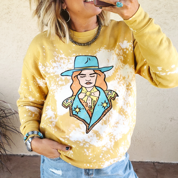 The Hey Cowgirl Sweatshirt