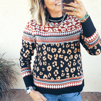 The Langley Leopard Sweater