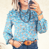The Gatekeeper Floral Blouse