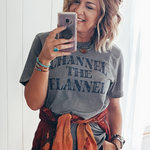 Channel the Flannel Tee
